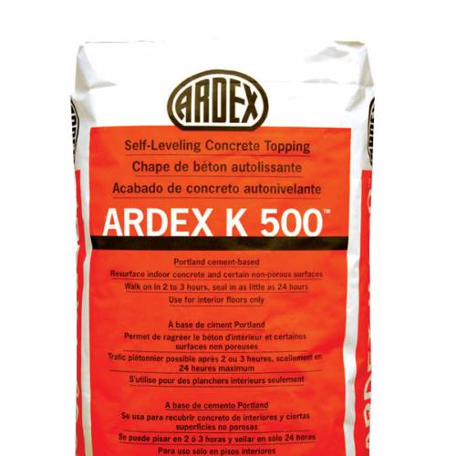 ARDEX K500 - Self-Leveling Concrete Topping​​​​​​​​​​​​​