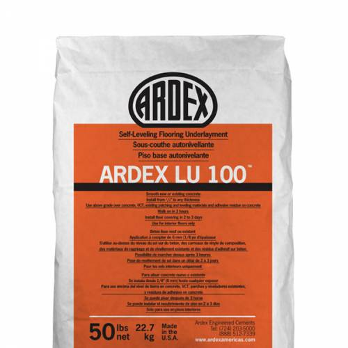 ARDEX LU 100 - Self-Leveling Underlayment