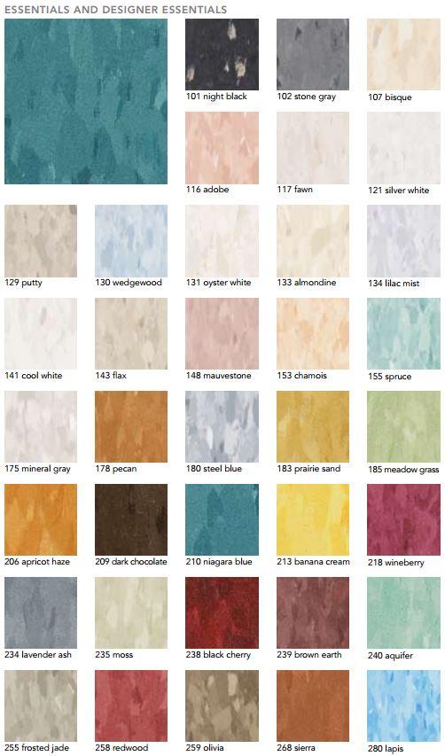 Vct Tile Colors Design Ideas