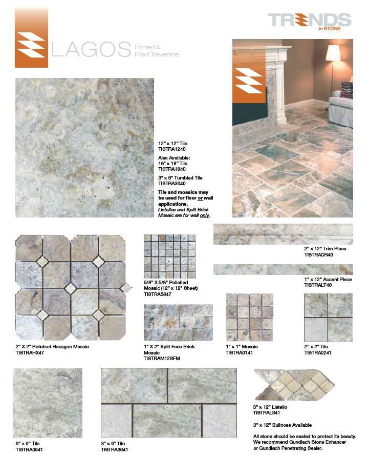TRENDS In STONE Collection