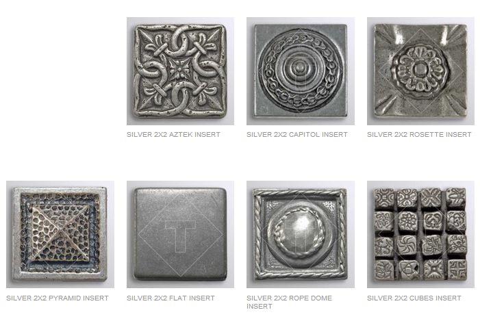 Silver Inserts Amp Decorative Muretto Plates