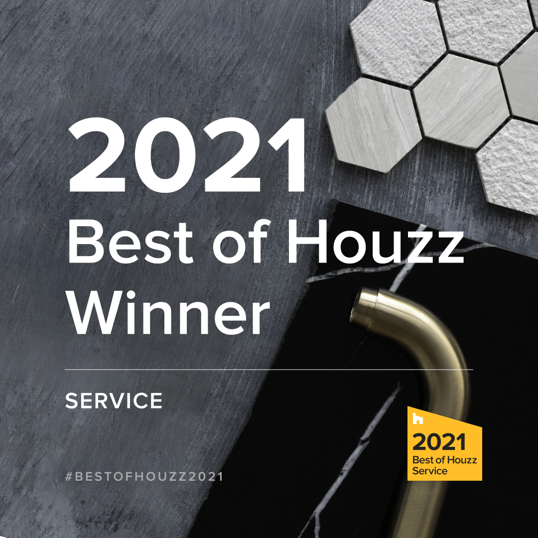 Best of Houzz 2021 for Service!